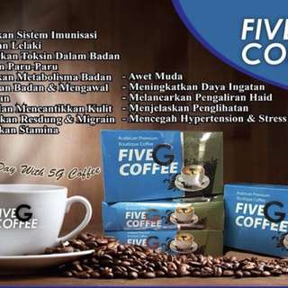 Five G coffee