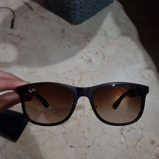 Rayban Andy brown gradient