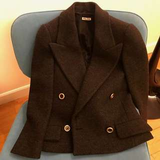 Miu Miu wool jacket size 36 very new
