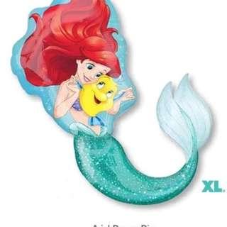 Anagram Disney little mermaid balloon