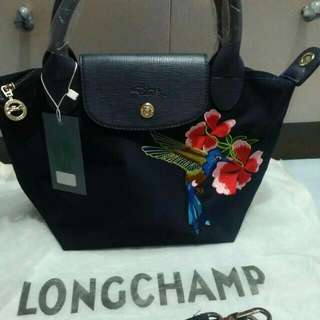 Long champ black from singapore