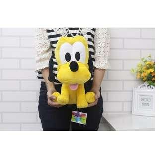 【高弟街百貨】12吋布魯托娃娃 布魯托坐姿娃娃 玩偶 迪士尼娃娃 小狗娃娃 黃狗娃娃 卡通 迪士尼布魯托 抱枕 生日禮物