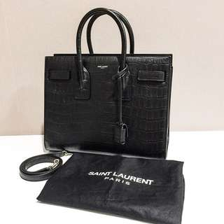 Excellent YSL SDJ croc stamp Small 2015