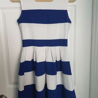 ℹBlue and White Dress by Katie