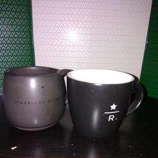 Starbucks 3oz mug 2隻