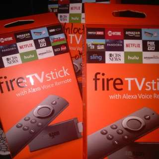 Amazon FireTvStick Unlocked Fully-loaded