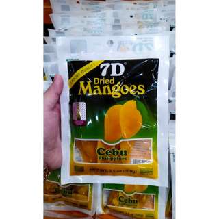 Dried Mangoes From Cebu (Export Quality)
