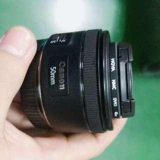 canon 50 mm 1.8f