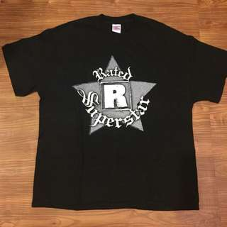 Vintage Edge Rated R Superstar T Shirt WWF/WWE