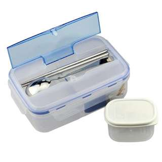 Bento Set Lunch Box w Soup Storage Chopstick Spoon