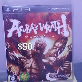 Ps3 阿修羅之怒 アスラズ ラース Asura's Wrath $50