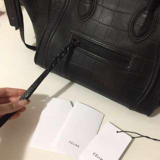 Authentic Celine Black Phantom