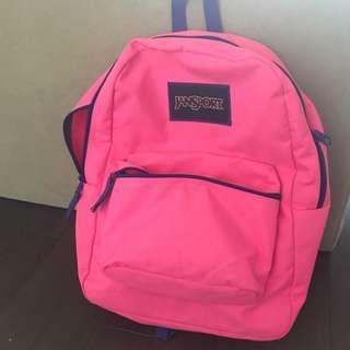💕 Hot Pink JanSport Backpack