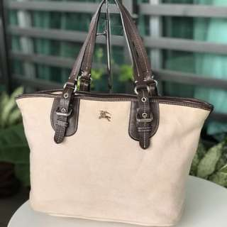 Authentic Burberry Totebag