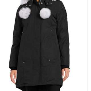 Moose knuckles ladies parka size large with tags!