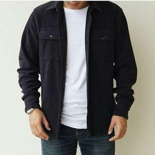 Old navy fleece military jacket