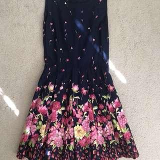 Floral Dress (XS)