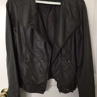 Pimkie Faux Leather Jacket