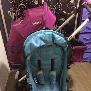 Stroller scr 12 + free raga scr 9