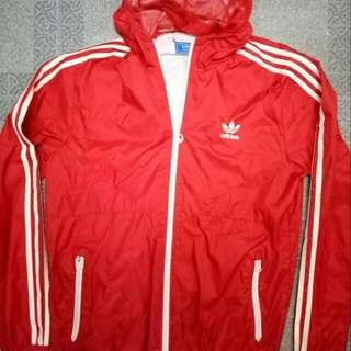 Authentic Adidas Track Windbreaker Jacket