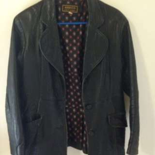 Genuine vintage leather jacket