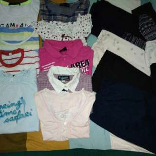 Combo Girl Clothes Size 7-8Years 1.6kg