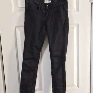 Black Low Waisted Jeans