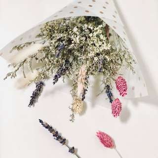 Everlasting Dried Flower Bouquets