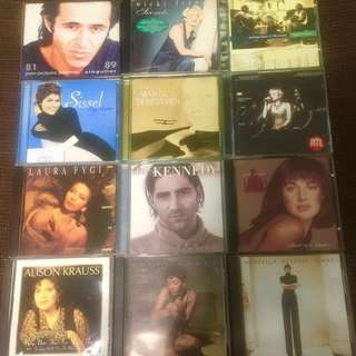 12pcs Vocal CD bundle sale