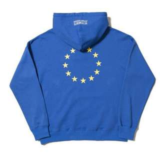 Vetements Euro Print Oversized Hoodie / Hood