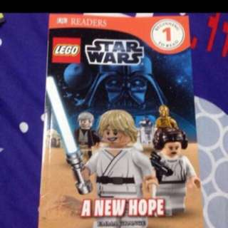Lego Book Star Wars A New Hope
