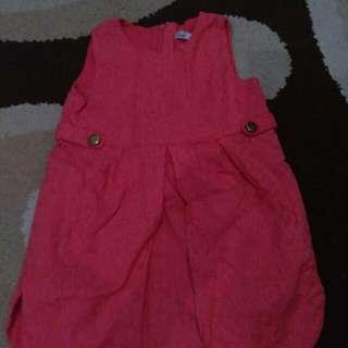 Dress bayi 18 mo