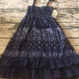 小孩 全新 Oshkosh 洋裝 尺寸4