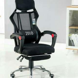 現貨網布款電腦椅(升級升降扶手及可擱腳)