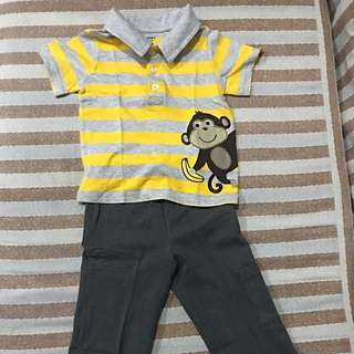 Carter's Shirt and Pants Set