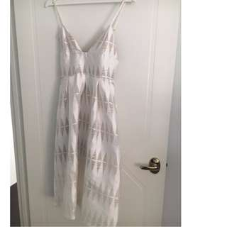 Kookai White Day Dress Size 8