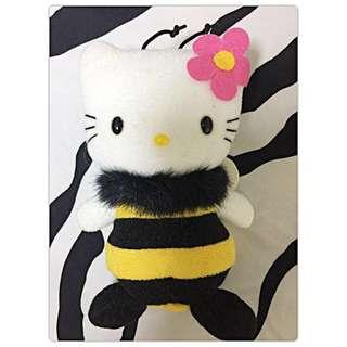 Hello Kitty 造型蜜蜂玩偶💕