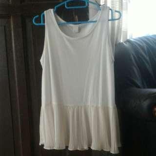 Preloved peplum blouse
