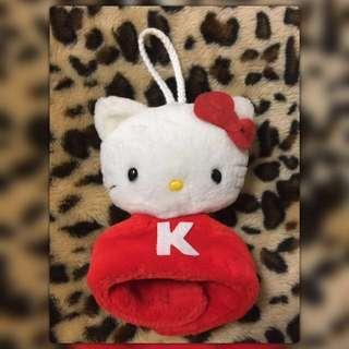 Hello Kitty 玩偶造型掛擦手巾💕