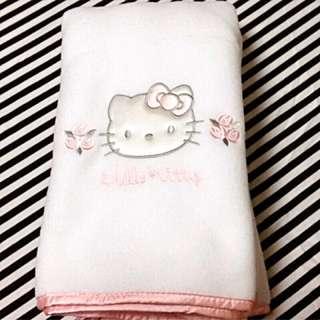 Hello Kitty 毛毯💕