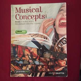 Musical Concepts for Preliminary and HSC Music 1 & 2
