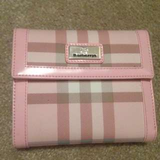 Cute pink Burberry Wallet