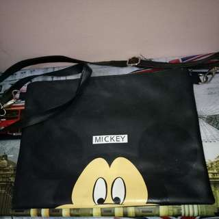 Mickey Black Sling Bag