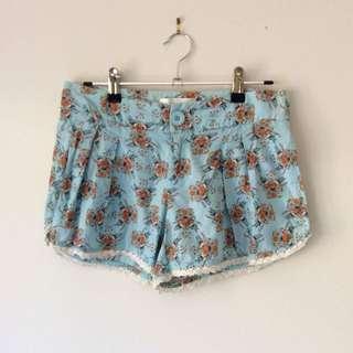 Zimmermann floral shorts Size 0 (6)