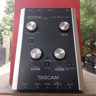 Audio interface / Soundcard External Tascam US-122MKII (BEKAS)