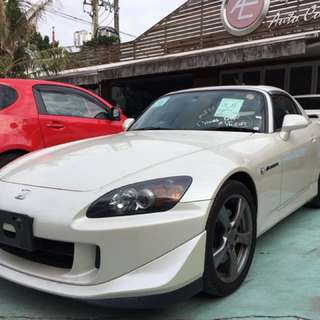 HONDA S2000 TYPE S  Month / Year:02.2009  Color:WHITE  Mileage:44,*** km Displacement:2.2L  Steering:Right  Transmission:MT  Fuel:GASOLINE  Drive:2WD  Doors:OPEN  Repaired:None  Chassis No:AP2-110****  Model code:ABA