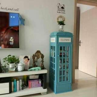 電話亭儲物櫃