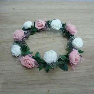 20cm Doll Flower Wreath Band Bts Exo Wanna One