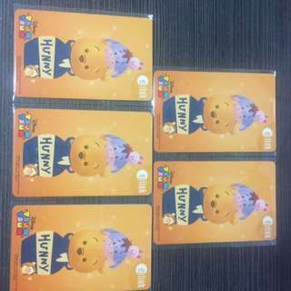 [Ezlink] Winnie the Pooh with $7 card value inside