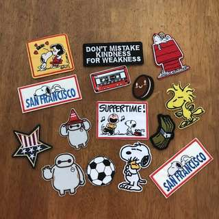 INSTOCK Iron On Patches